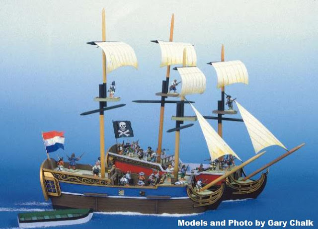 PAPERMAU: How To Build A Pirate Ship In 28mm Scale - Tutorial With ...