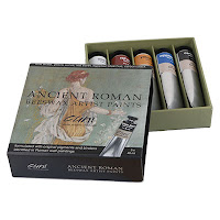 Cuni Ancient Roman Color Set - Cuni Encaustic 蠟彩 美術顏料 1