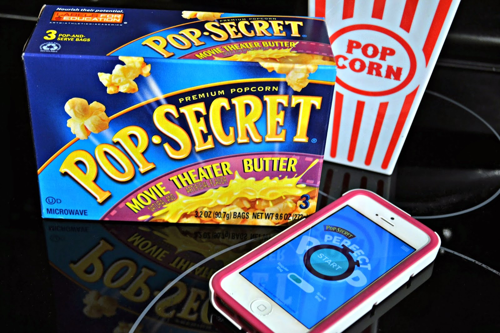 Pop Secret Popcorn Family Movie Night Popcorn, Pop Secret Perfect Pop, Pop Secret App, Perfect Pop App