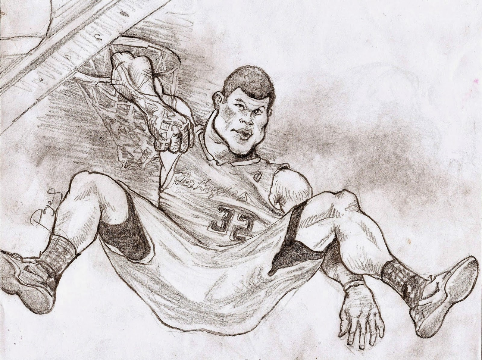 Caricatures, Drawings and Doodles: Nba post