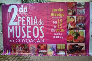Feria de los Museos 2012 en Coyoacán FOTO: argonmexico.com