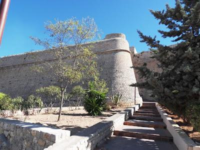 Ibiza Old Town walls, Eivissa