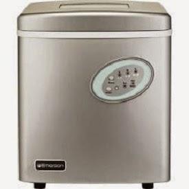 Emerson Portable Ice Maker silver