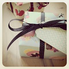 Papirsfoldet gaveæske