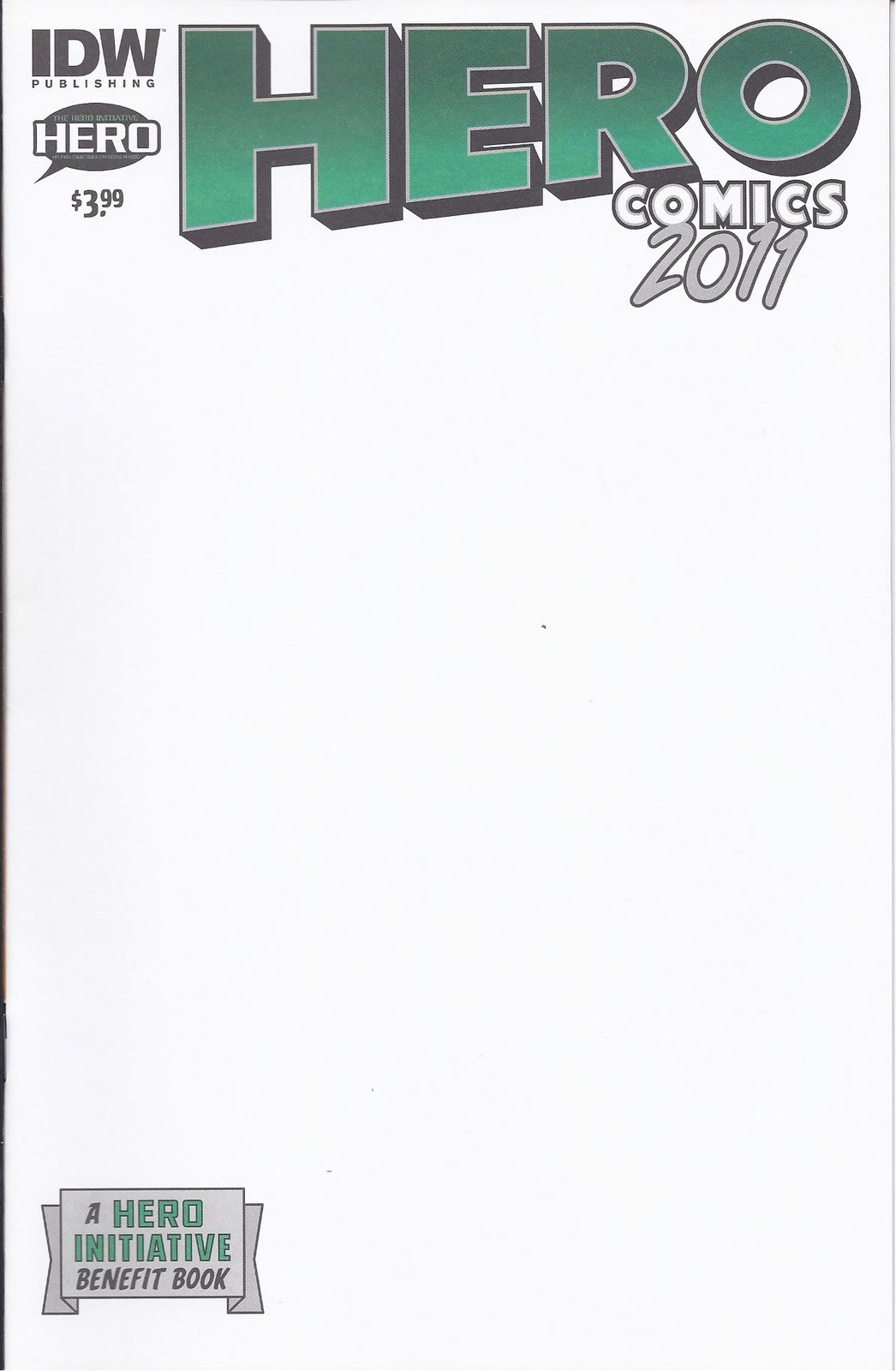 Blank Comic Book Cover Template : The hero initiative comics blank covers yes they