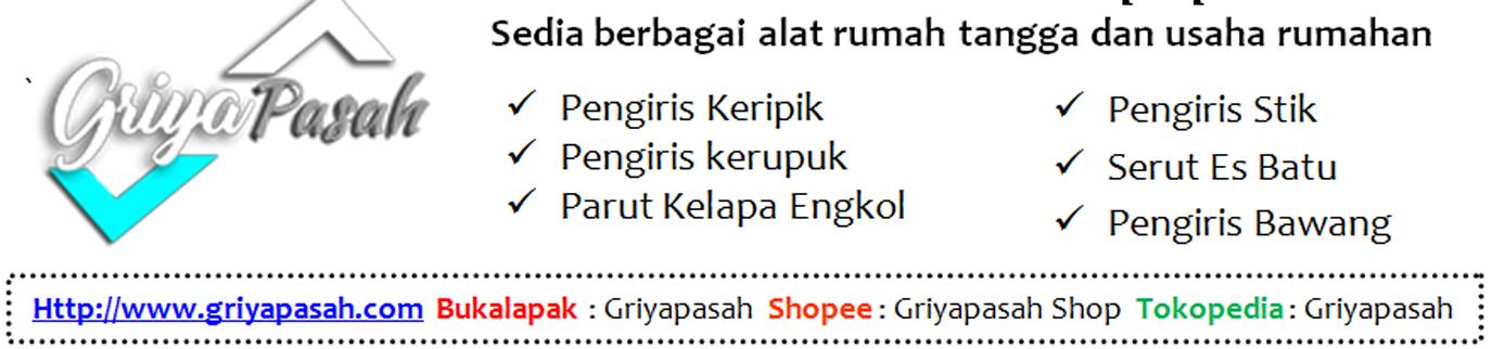 Toko Online Pengiris Keripik Manual Kayu Jati Griyapasah 2019