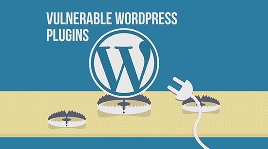 beberapa plugins wordpress yang membuat website rentan