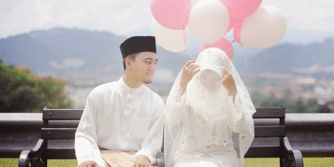 gambar kahwin muda