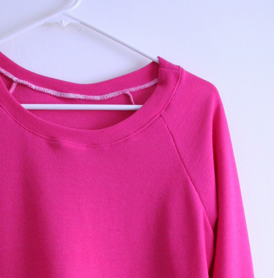 Tangible Pursuits: Sewing for Myself: Raglan Sleeve Sweater