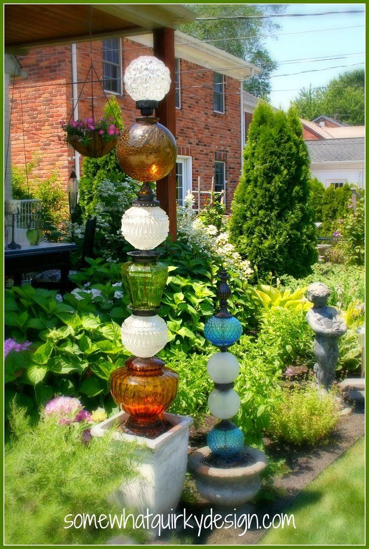 Decorer Son Jardin Avec De La Recuperation - Fashion Designs