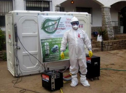 Descontaminaci n y retirada de amianto ecoreformas 648 for Fibrocemento sin amianto