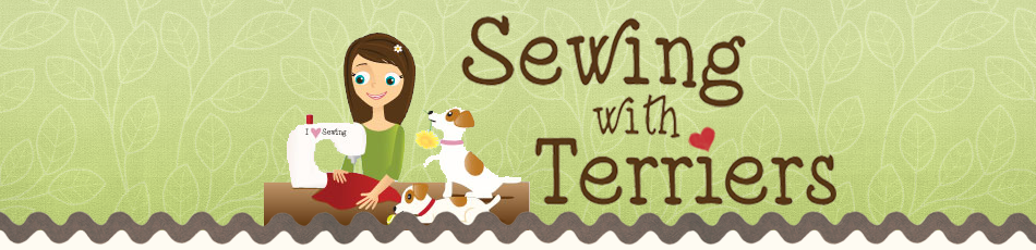 Sewing with Terriers