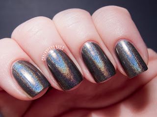 China Glaze Hologlam Collection Galactic Grey nail polish