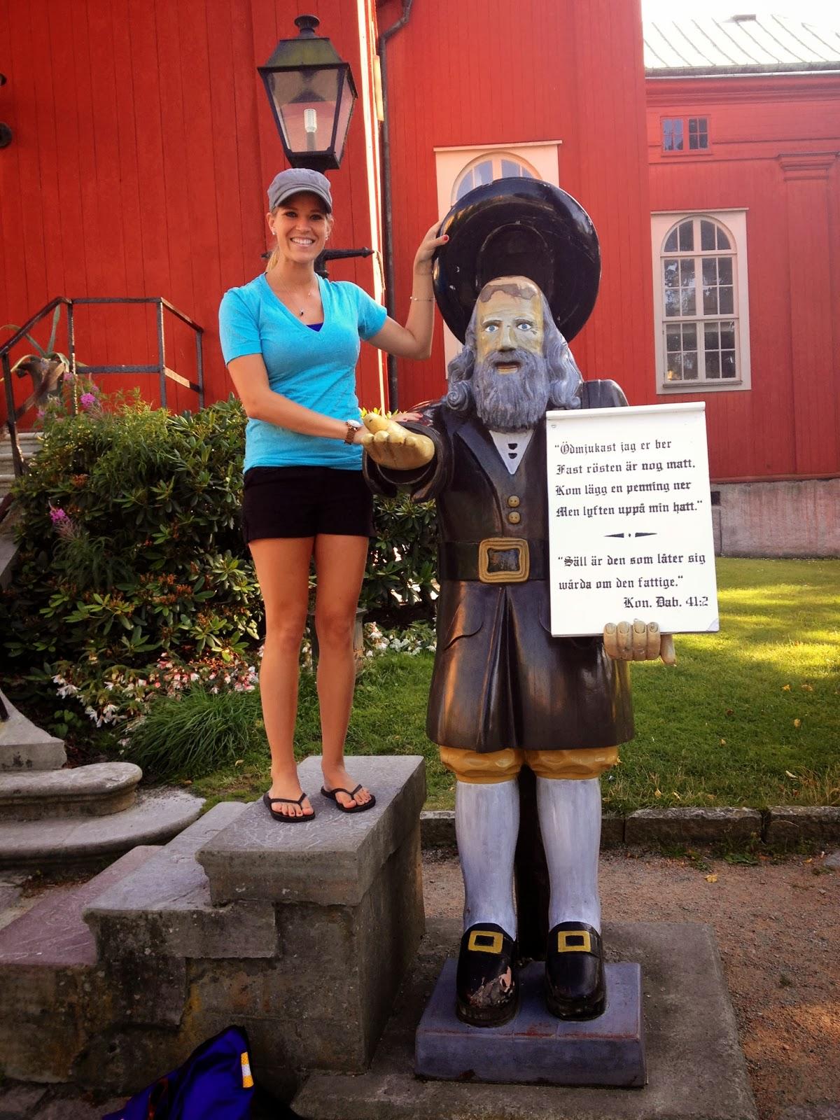 Rosenbom Karlskrona statue