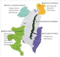 Taiwan Tea Map