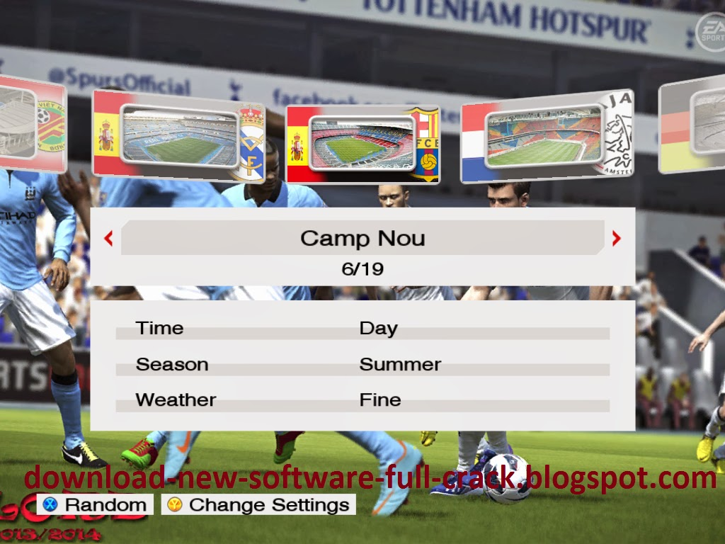 Update PES 2009 November 2013 SEASON 13/14 PES LORD V2.0