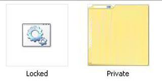 Cara Mudah Password Locked File Folder