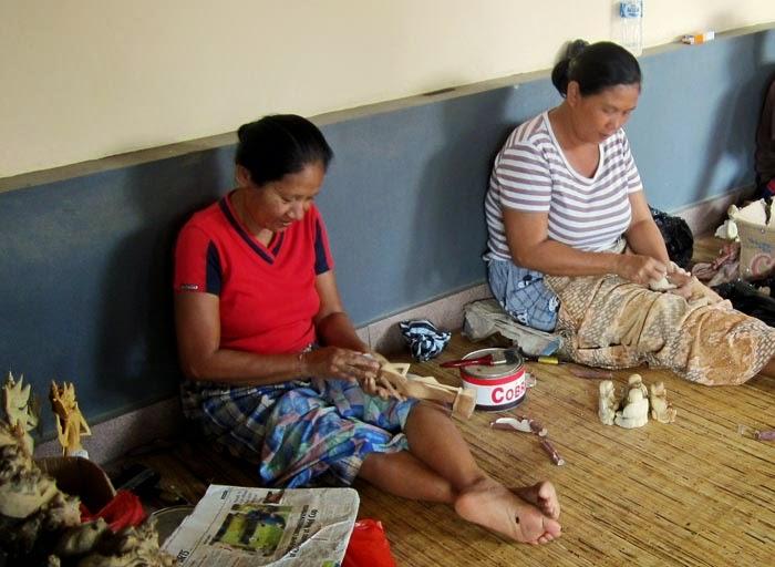 Women artisans in Bali
