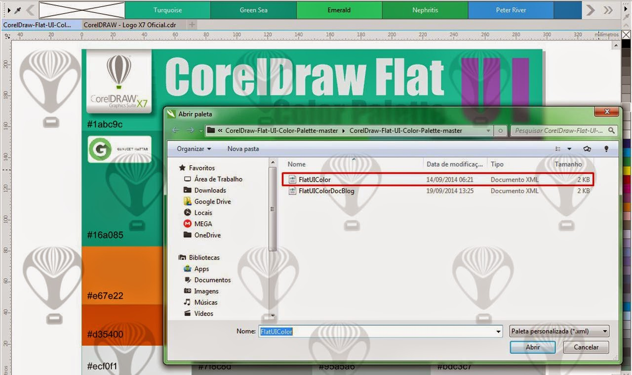 Coreldraw color palette free download - Coreldraw Flat Ui Color Palette Free Download