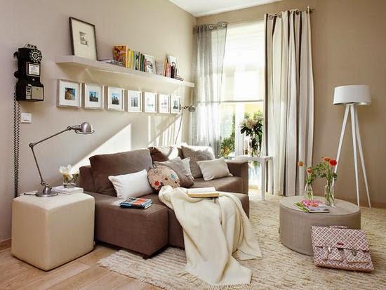 Pintar salones con dos tonos decorar tu casa es - Decoracion de salones pintura ...