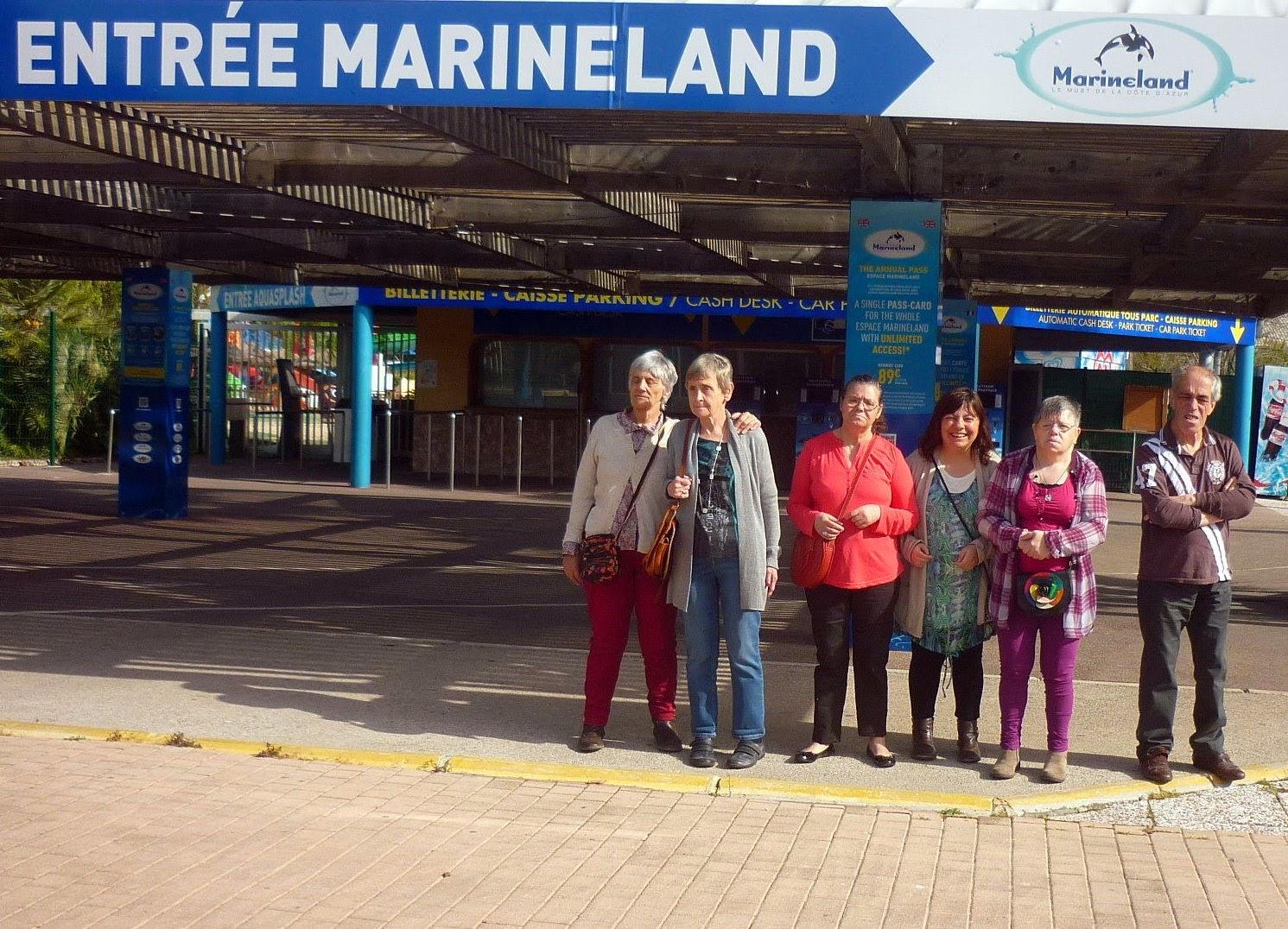 Ensemble avec eux s jour antibes parc aquatique marineland for Meteorama antibes