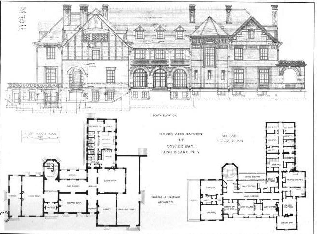 Ontare on luxury mansion floor plans