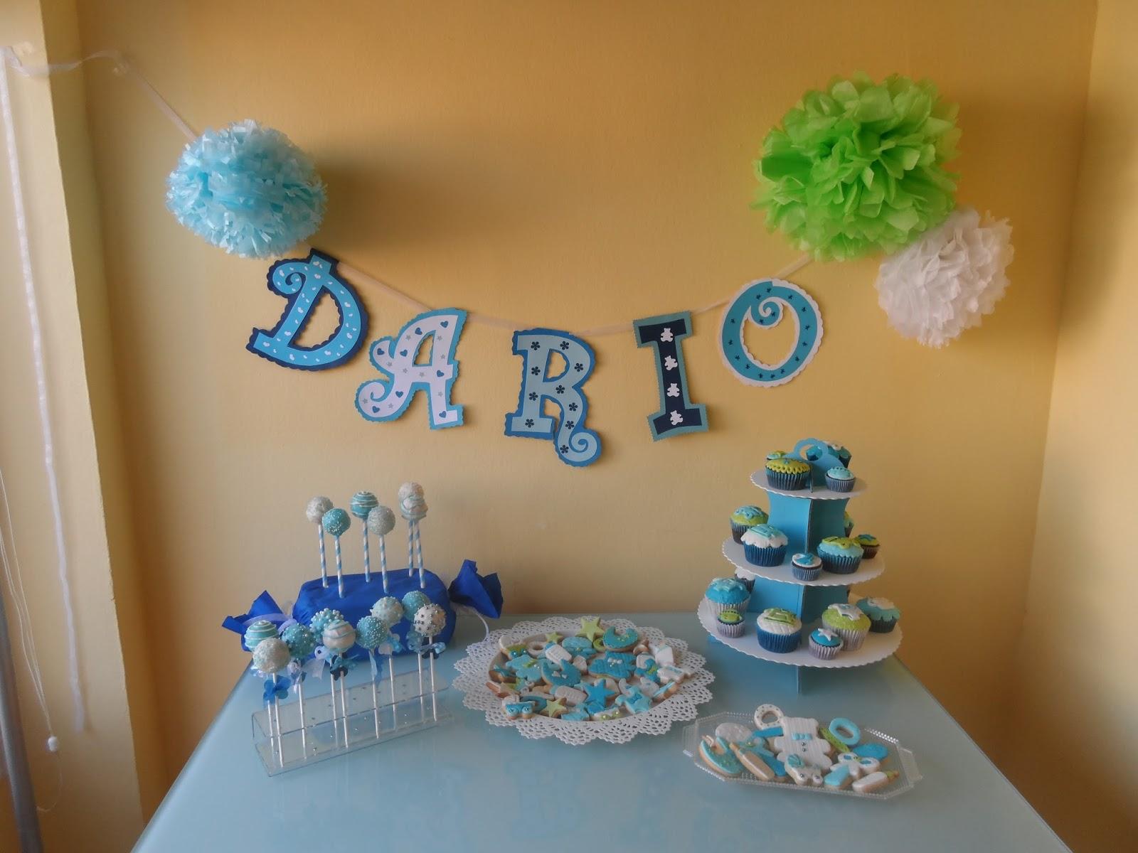 Tartas de sande mesa dulce bautizo dario - Decoracion para fotos ...
