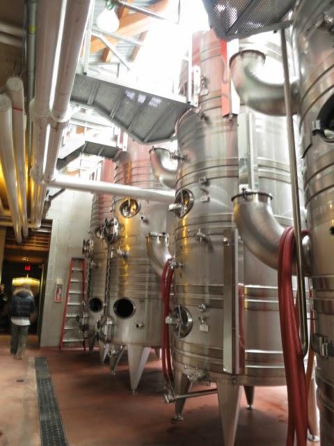 Steel Fermentation Tanks at Fielding Estate Winery