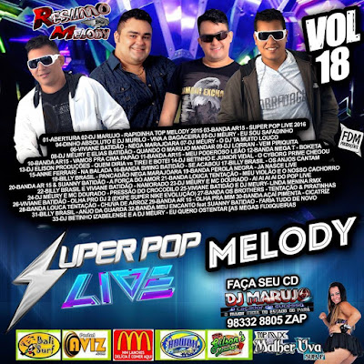 CD SUPER POP LIVE VOL.18 EXCLUSIVO 22/11/2015