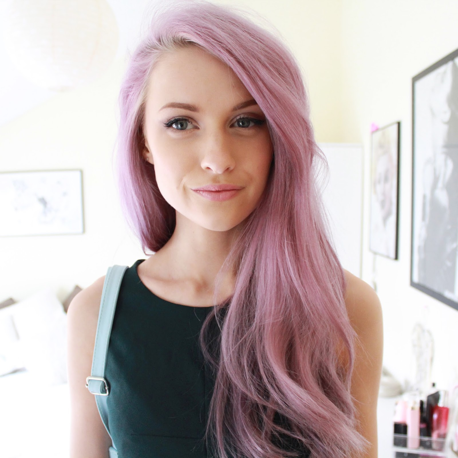 Girls With Light Purple Hair Tumblr Verge Girl Scandal Playsuit