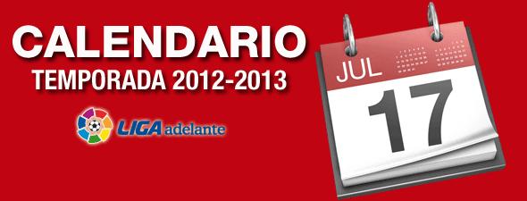 Calendario Liga Adelante 2012-2013