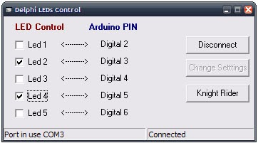 Delphi Serial Communication