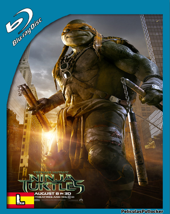 Las Tortugas Ninja [BrRip 720p][Latino][SD-MG-1F]