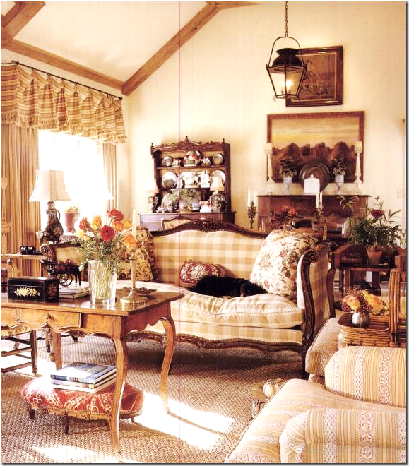 French Country Cottage Living Room: Who & What Inspires Me