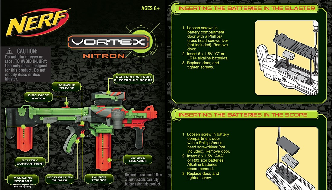 Sg Nerf Nerf Vortex Nitron Instruction Manual