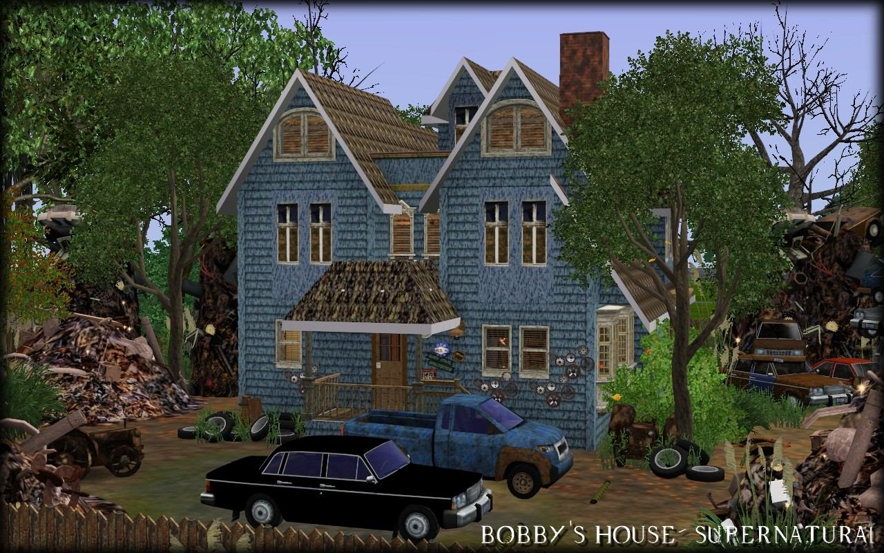 My sims 3 blog bobby 39 s house supernatural by aya20 for House and home blog
