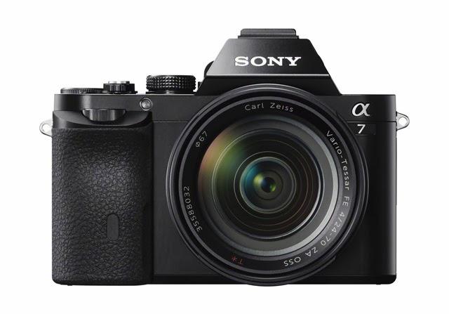 Fotografia della Sony A7