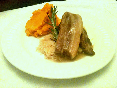 Eating Well on $6 a Day: maple bourbon braised pork belly, riesling ...
