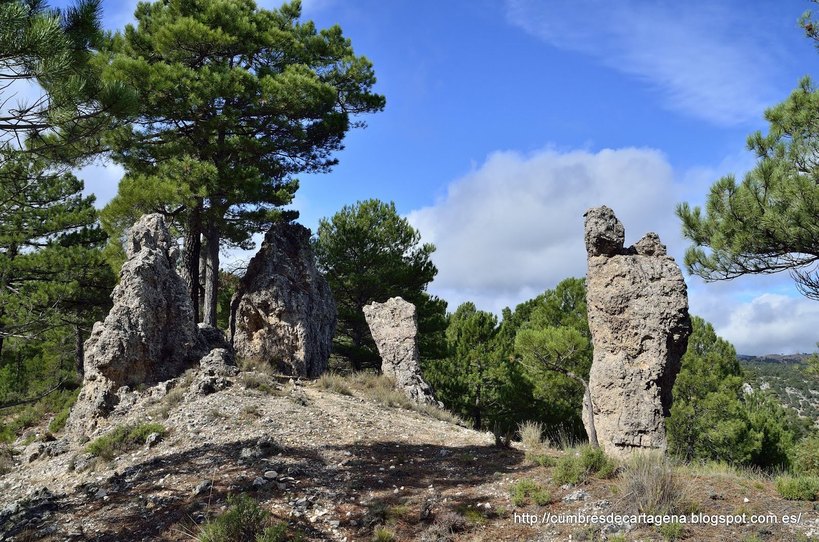 Monta as de cartagena senderismo de batan del puerto a riopar por los gallineros - Altos del toril ...