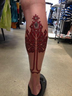 Tree of Gondor Tattoo