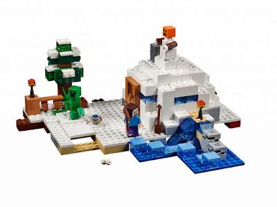 JUGUETES - LEGO Minecraft  21120 La Guarida de la Nieve  The Snow Hideout  Producto Oficial 2015 | Piezas: 327 | Edad: +8 años