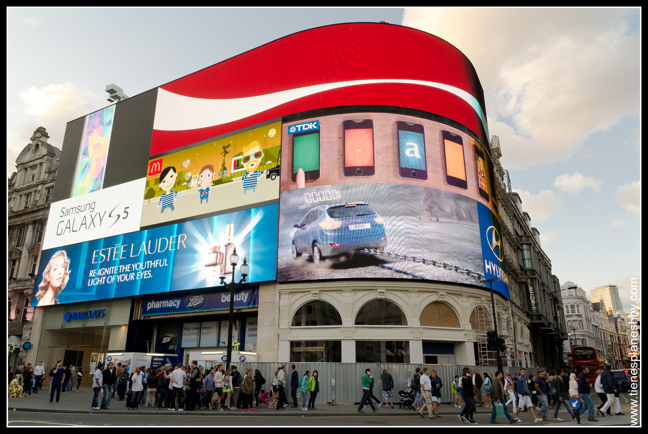 Picadilly Circus Londres (London) Inglaterra