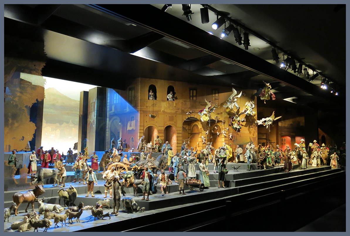 DOMVS PVCELAE: Exposición: ORO DE NÁPOLES, belén napolitano del Museo Naciona...
