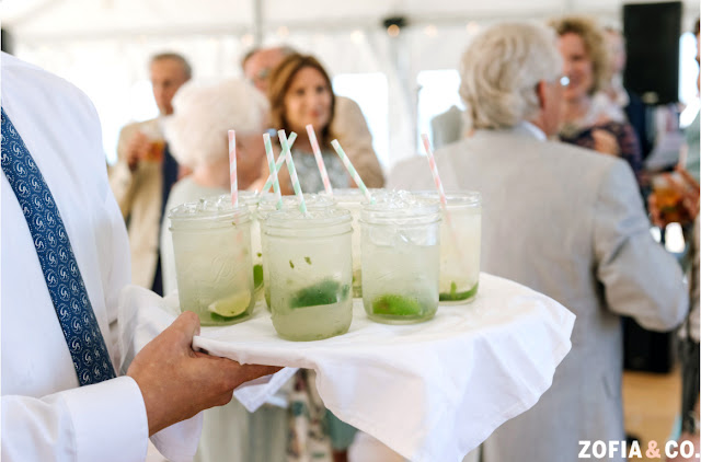 Manhattan Mojitos Wedding Reception