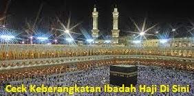 Ceck Keberangkatan Haji