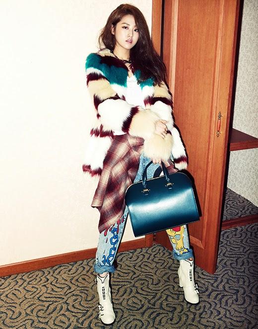 Gayoon 4minute - bnt International December 2013