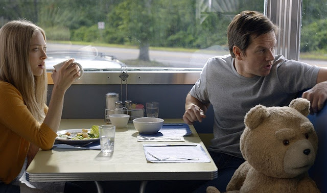 Ted 2 still Amanda Seyfriend Mark Wahlberg
