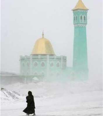 Nurd kamal - masjid terdingin di dunia