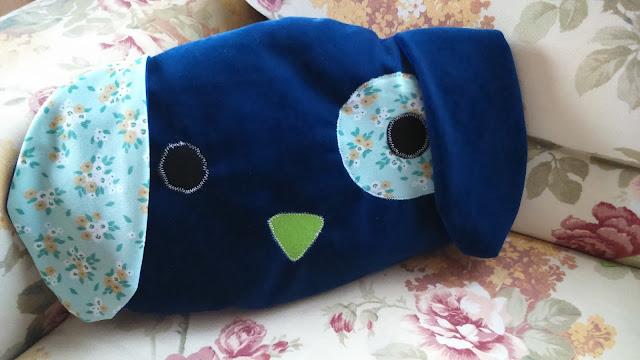 Poduszka handmade – mięciutki piesek
