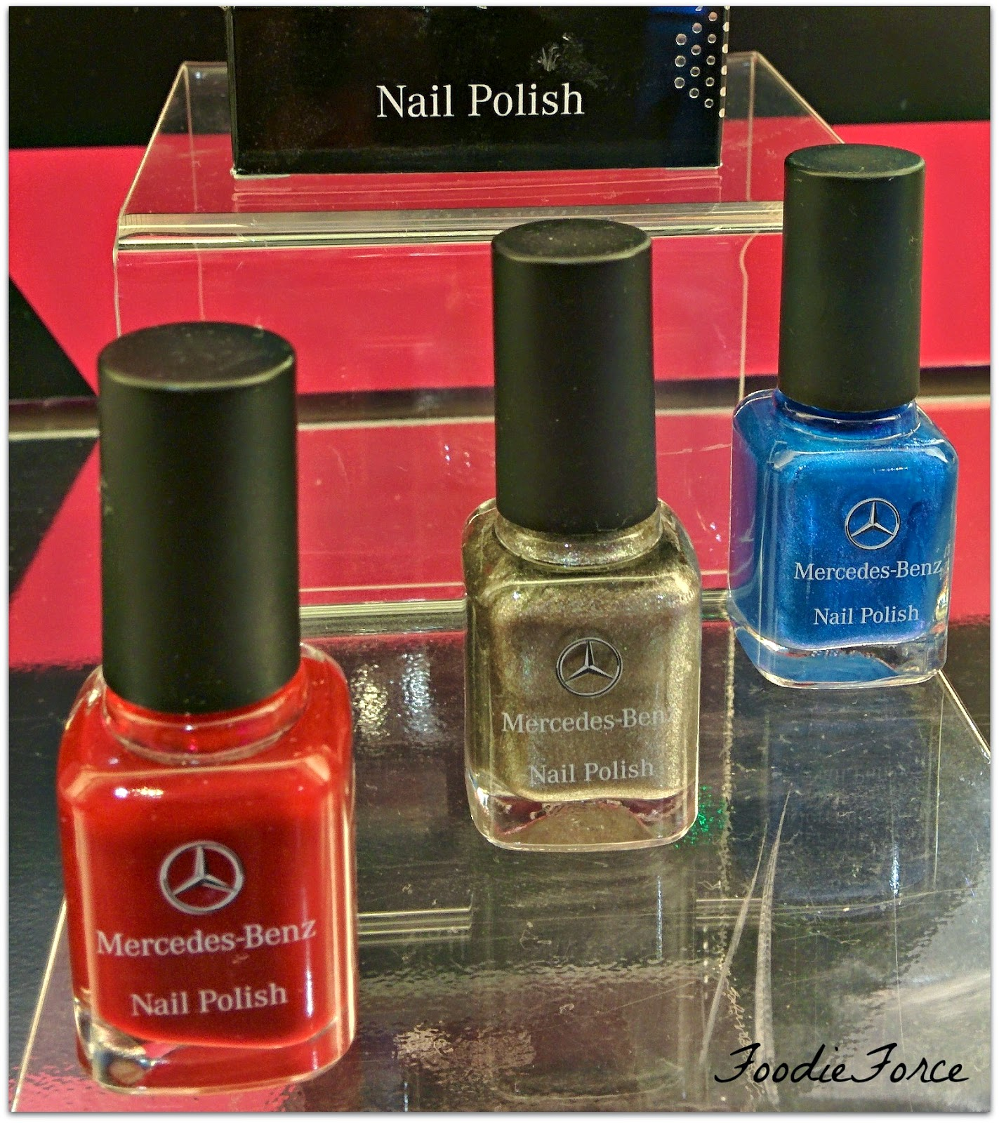 Mercedes Benz nail varnish